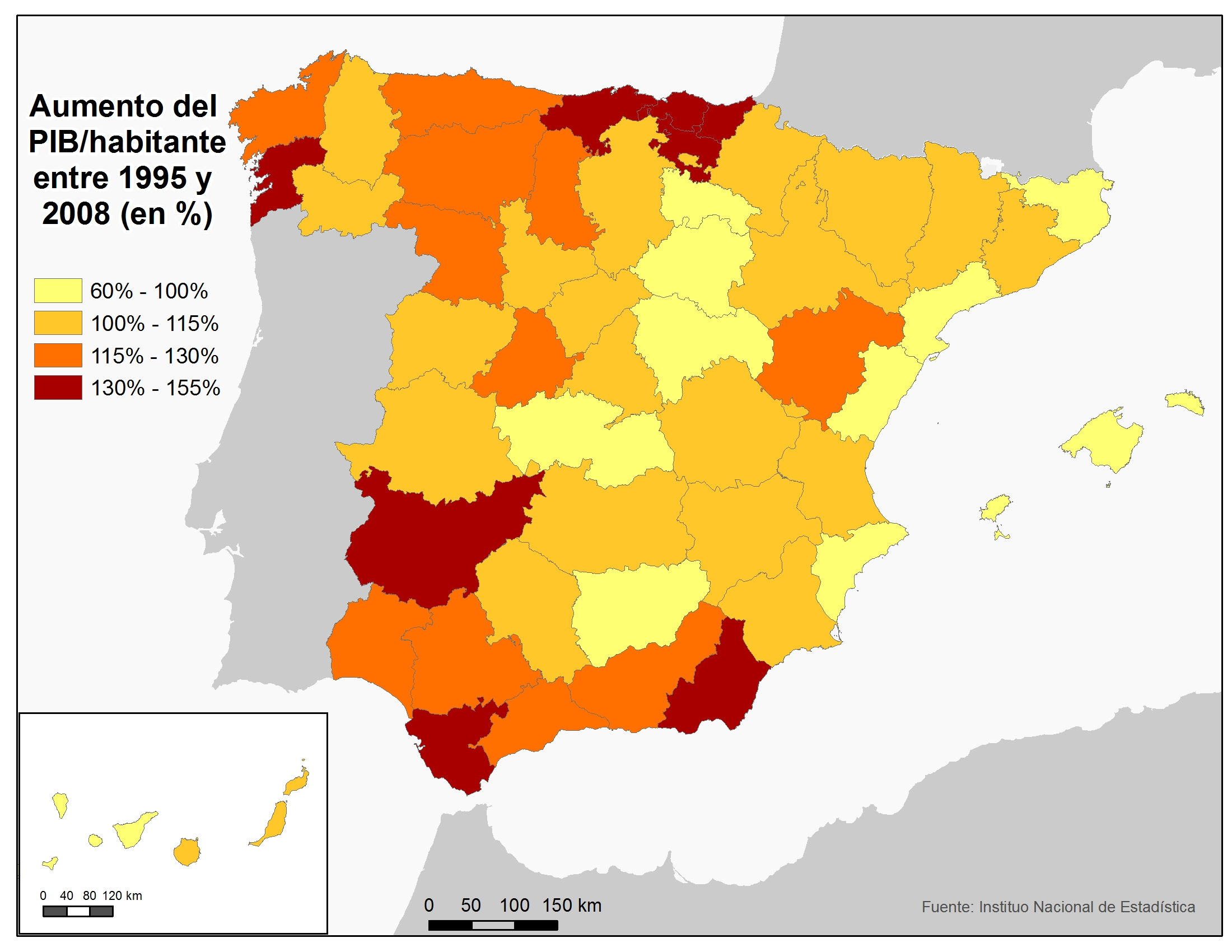 Mapa Economico De España.Mapa Economico De Espana